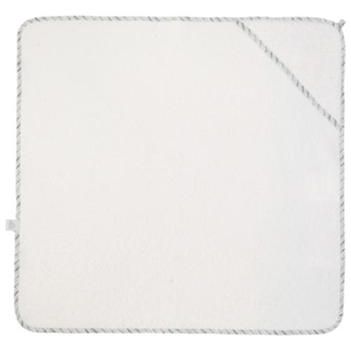 NANAMI   連帽包巾/浴巾 米白色