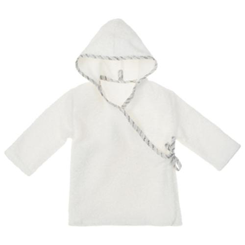 NANAMI   寶貝浴袍 米白色 小童款
