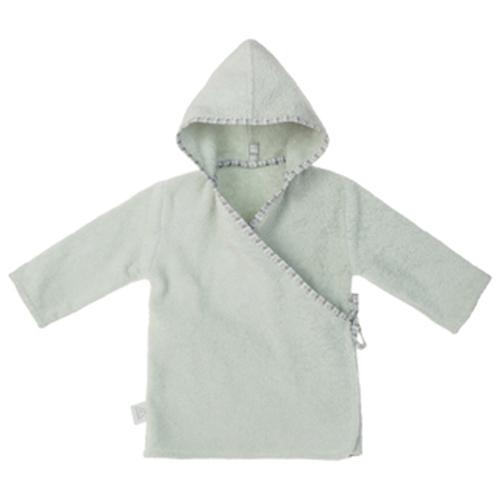 NANAMI | 寶貝浴袍 淺綠色 小童款