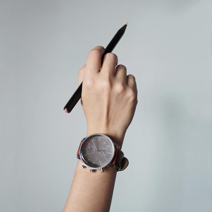 ZOOM │ Refine 旅行者多功能腕錶-灰色