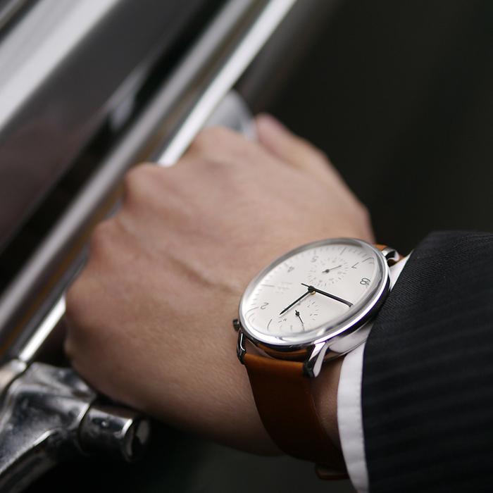 ZOOM │ Refine 旅行者多功能腕錶-白色