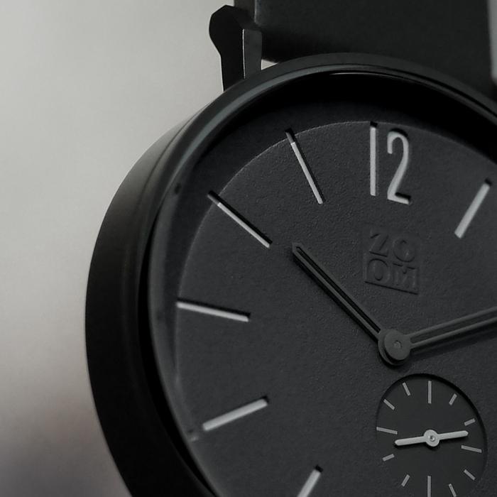 (複製)ZOOM|LEAK 黎刻簡約小秒腕錶 - 白/41mm