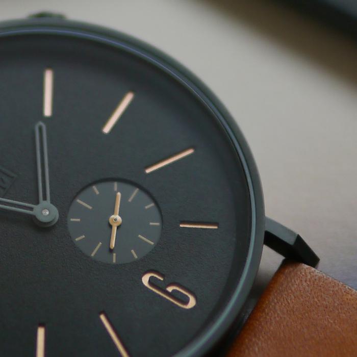 (複製)(複製)(複製)ZOOM|LEAK 黎刻簡約小秒腕錶 - 灰/41mm