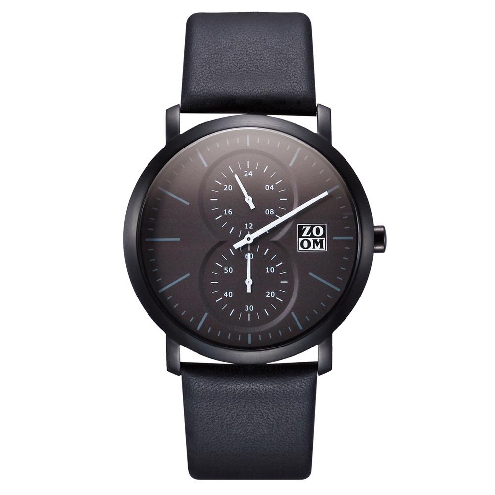 ZOOM  │  Muse 繆思系列特殊讀時腕錶(黑)