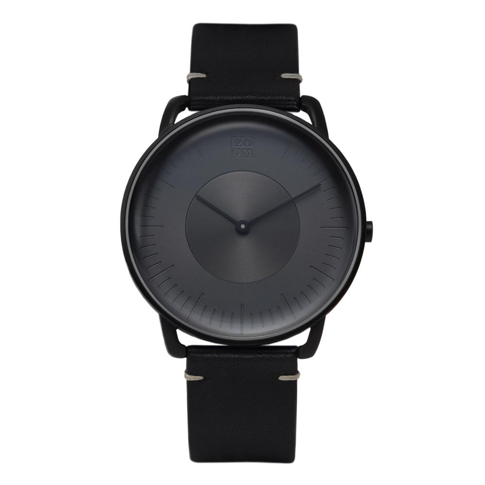 ZOOM|SILO 極地光暈腕錶-黑/39mm