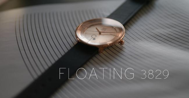 (複製)ZOOM │ FLOATING 光燦美學腕錶-黑/42.5mm