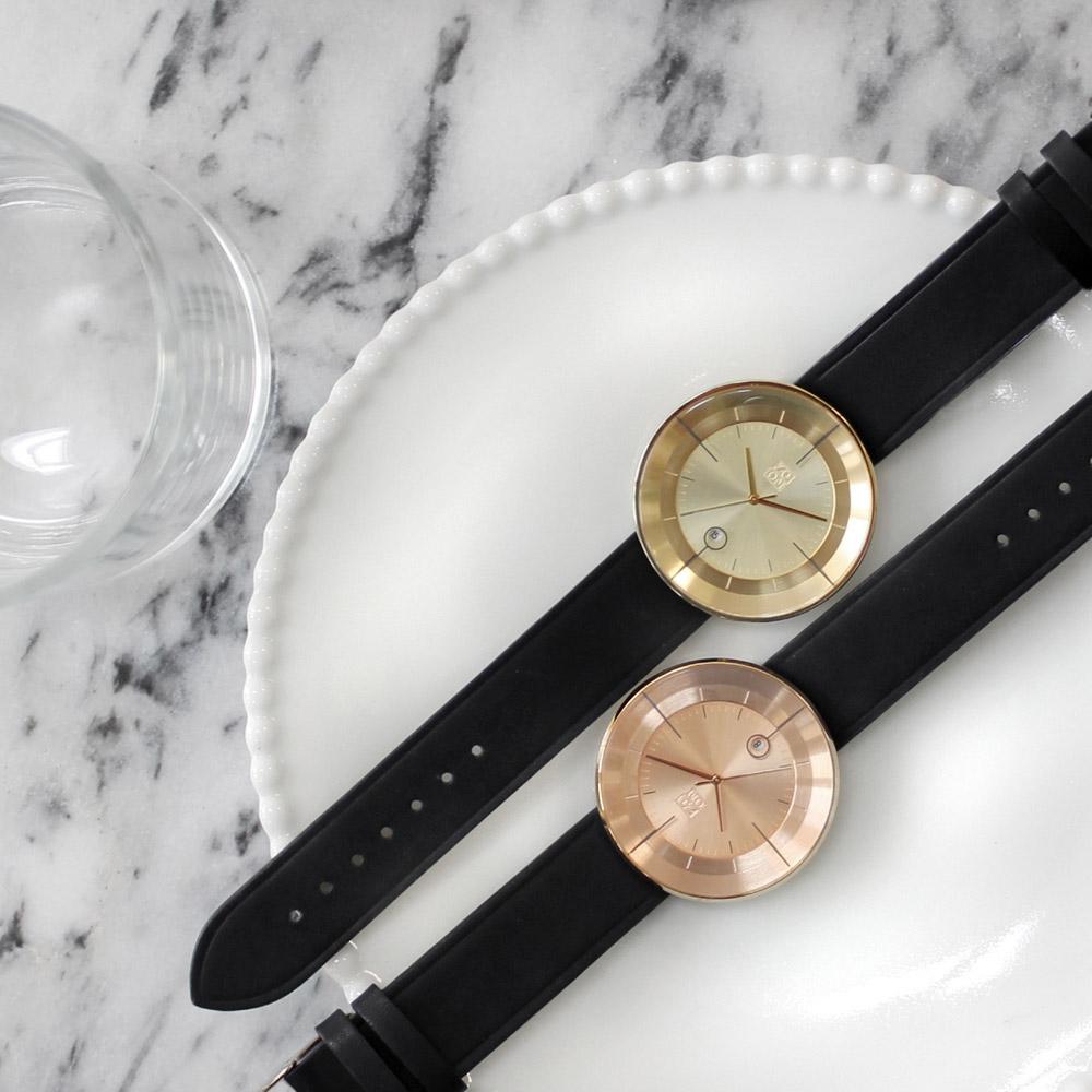 ZOOM|FLOATING 光燦美學腕錶-金/42.5mm