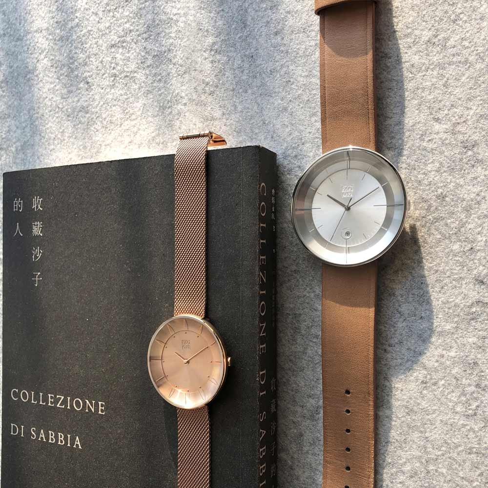 ZOOM FLOATING 光燦美學腕錶-銀/42.5mm