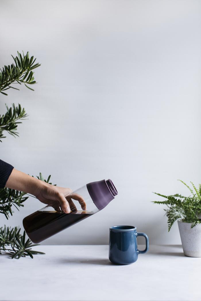 (複製)TOAST|SCENE 隨身玻璃茶瓶 紫色 - 500ml