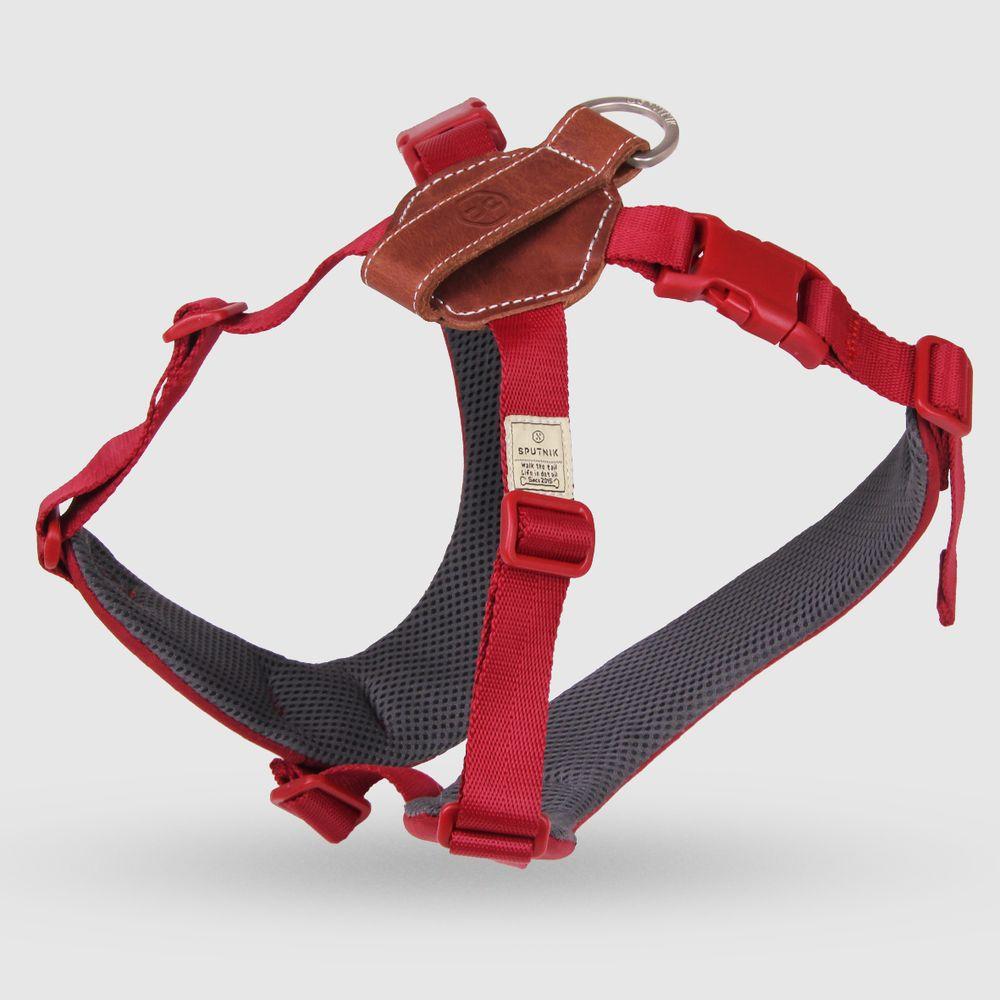 SPUTNIK|寵物胸背帶 Harness 紅 (L)