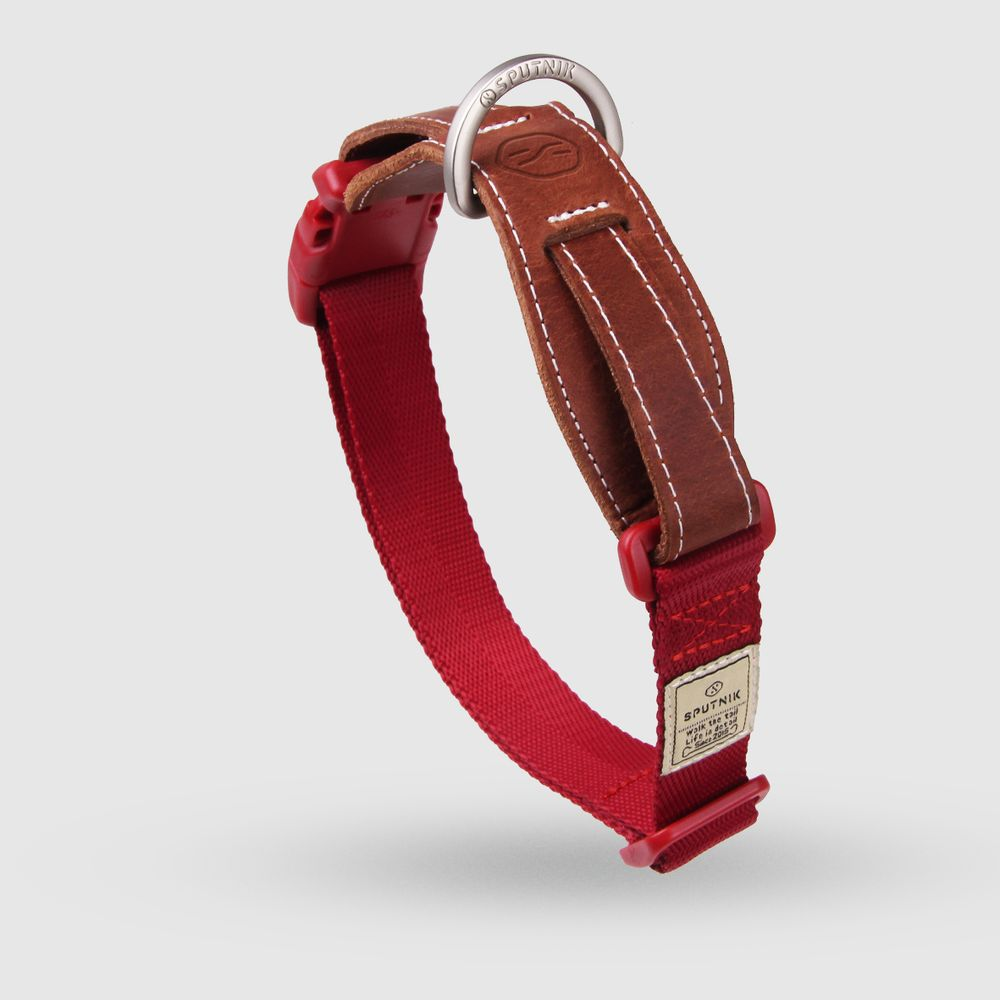 SPUTNIK 寵物胸項圈 Collar 紅 (L)