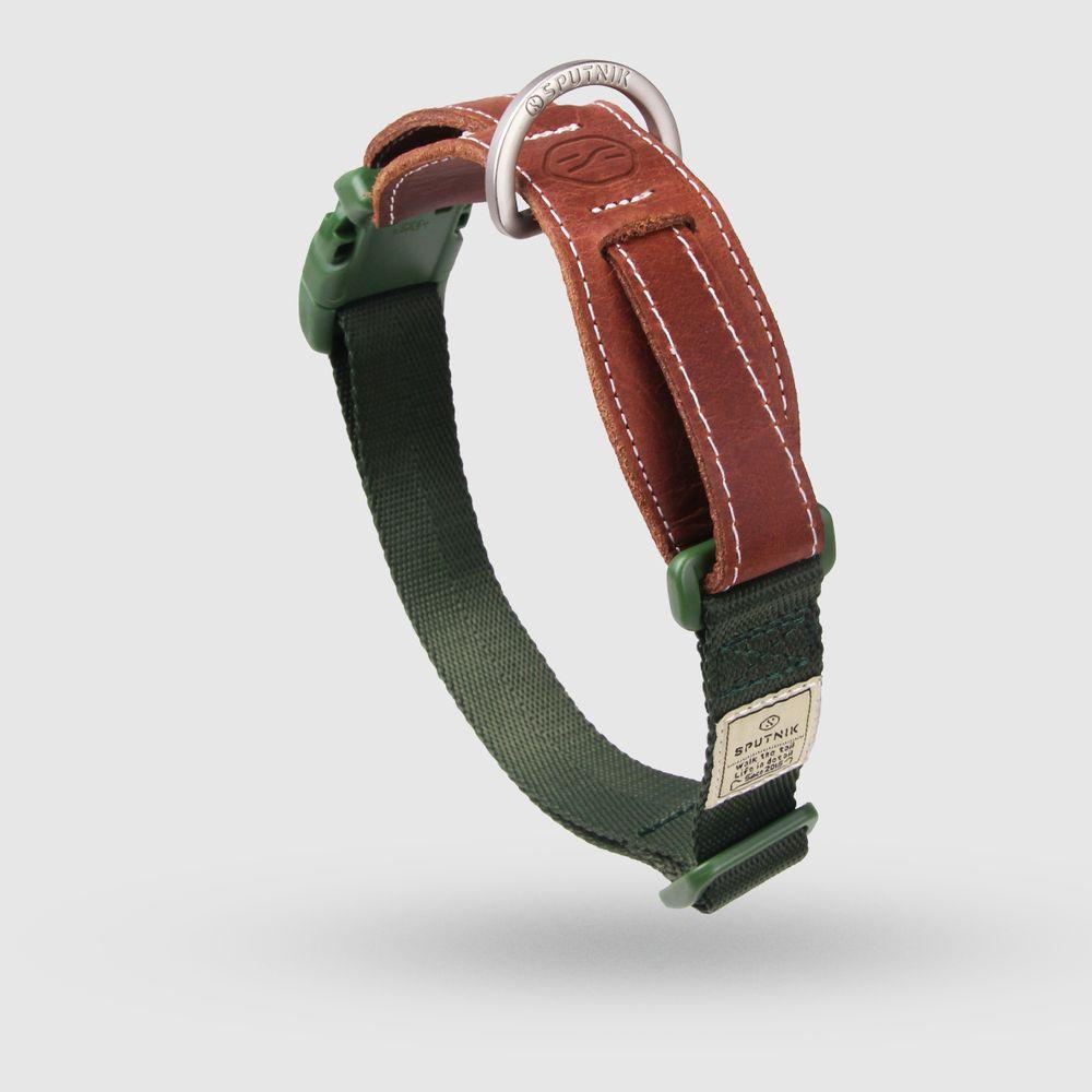 SPUTNIK|寵物胸項圈 Collar 綠 (L)