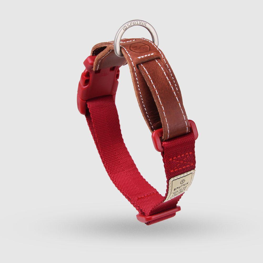 SPUTNIK|寵物胸項圈 Collar 紅 (M)