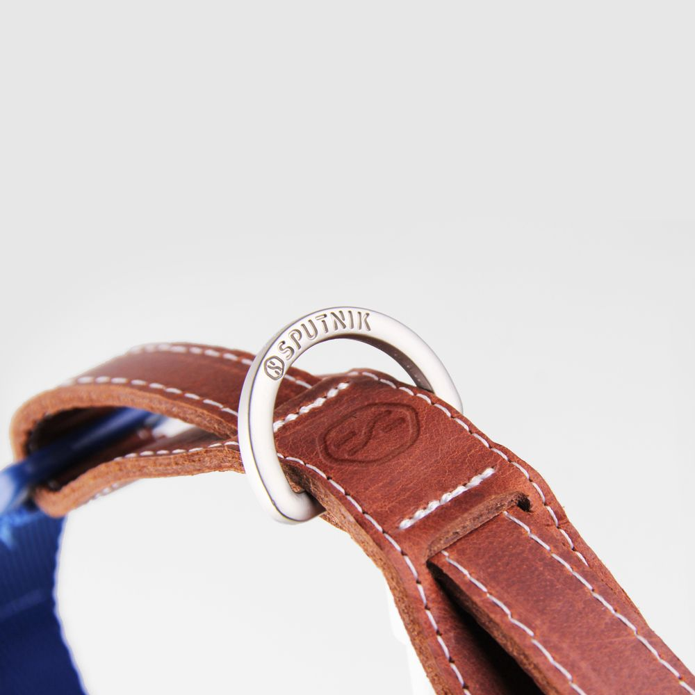 SPUTNIK|寵物胸項圈 Collar 藍 (M)