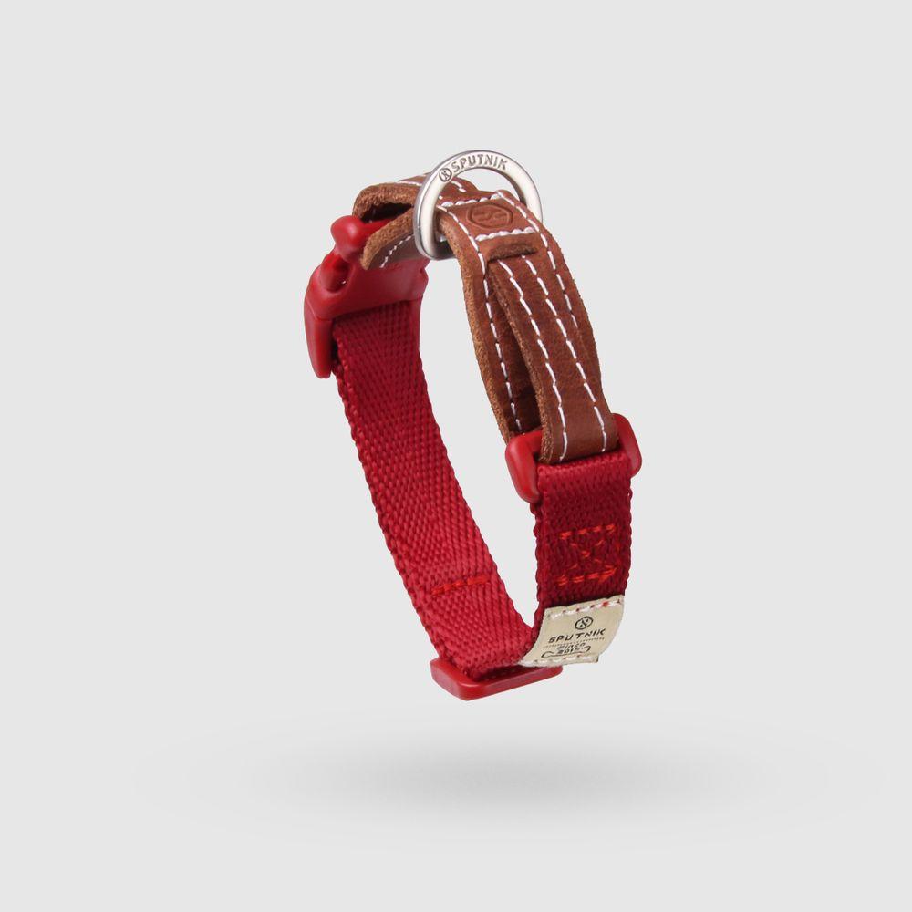 SPUTNIK|寵物胸項圈 Collar 紅 (S)
