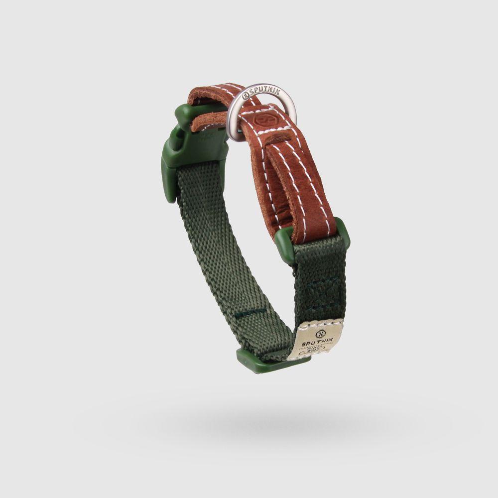 SPUTNIK|寵物胸項圈 Collar 綠 (S)