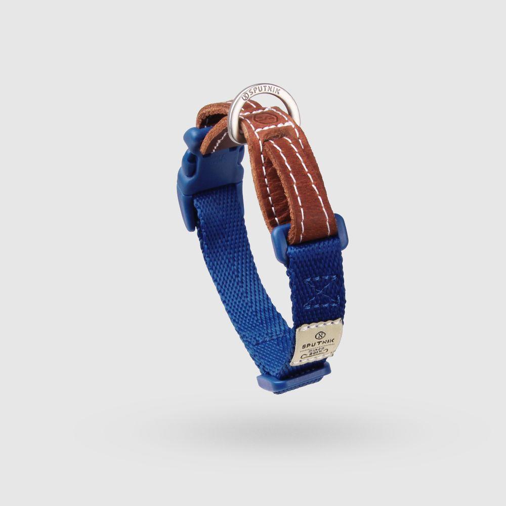 SPUTNIK|寵物胸項圈 Collar 藍 (S)