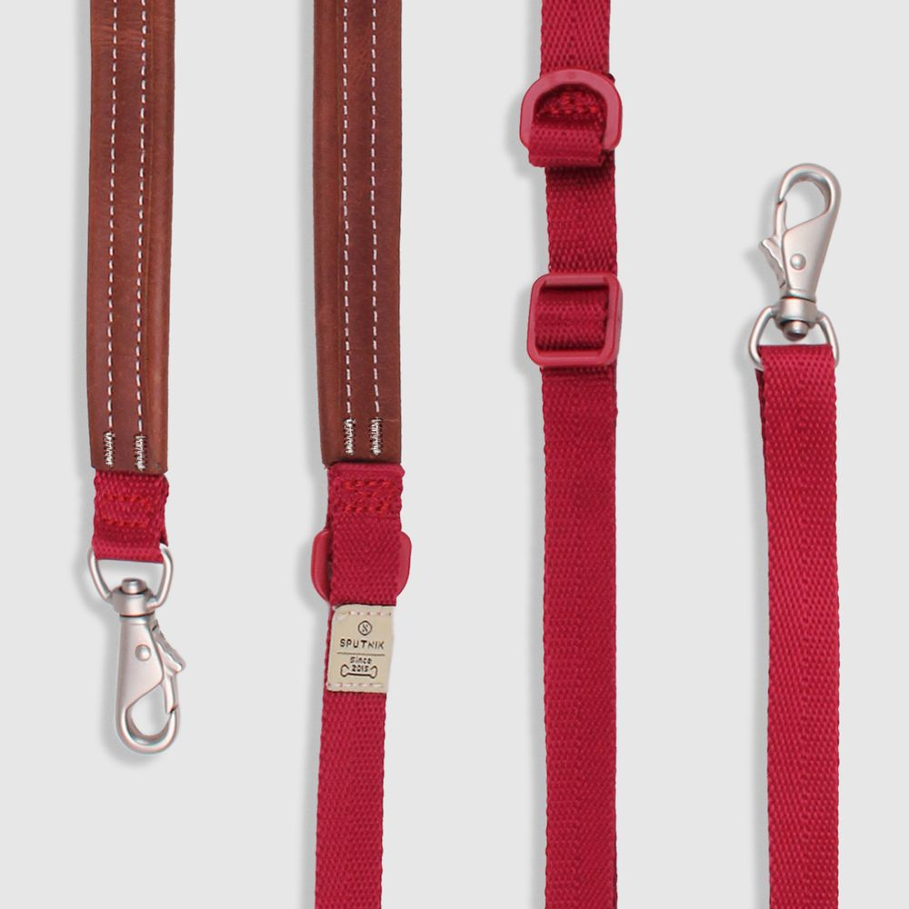 SPUTNIK 牽繩 leash 紅 (S)