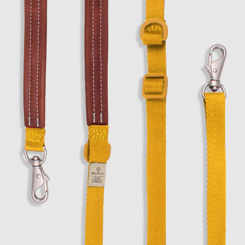 SPUTNIK|牽繩 leash 黃 (S)