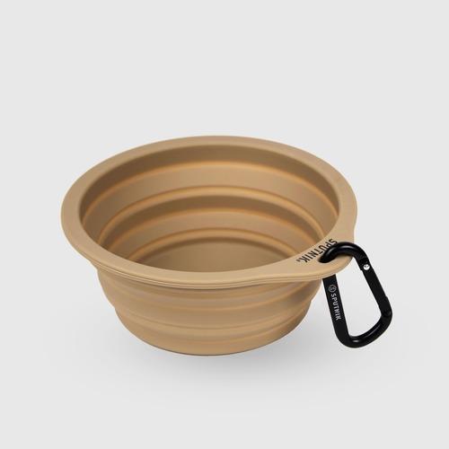 SPUTNIK EXPLORE 寵物摺疊碗 Collapsible Bowl - 卡其