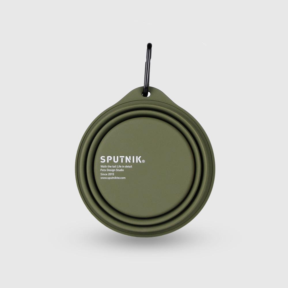 SPUTNIK|EXPLORE 寵物摺疊碗 Collapsible Bowl - 綠