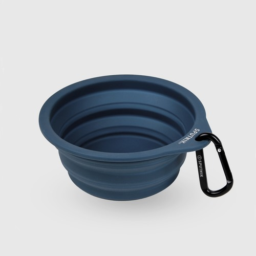 SPUTNIK|EXPLORE 寵物摺疊碗 Collapsible Bowl - 藍