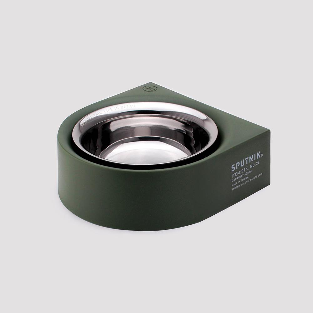 SPUTNIK|COZY 寵物防蟻碗 NON-ANTS Bowl - 綠