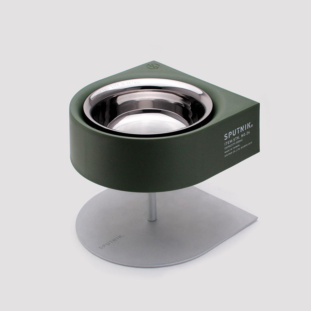 SPUTNIK COZY 增高防蟻碗 NON-ANTS Bowl - 綠