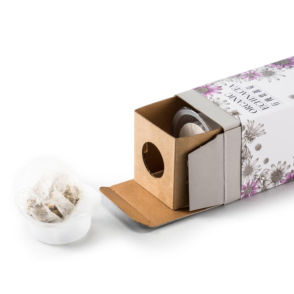 有甘田 x 農銘 計時泡茶隨行保溫杯 + 有機紫錐菊花茶