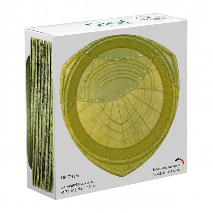 (複製)利芙樹葉餐盤|盒裝奧列安大圓盤