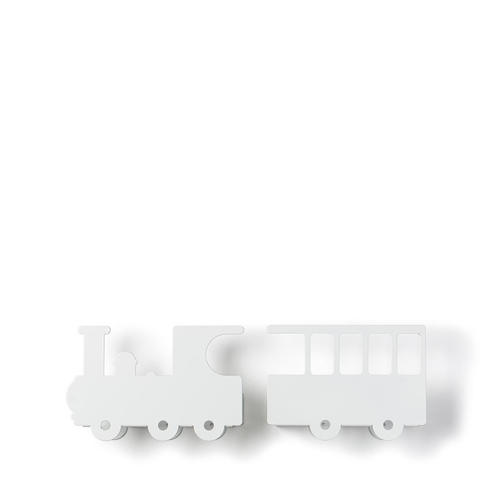 西班牙 Tresxics|嘟嘟火車造型書架(白)