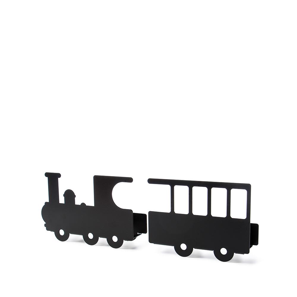 西班牙 Tresxics|嘟嘟火車造型書架(黑)