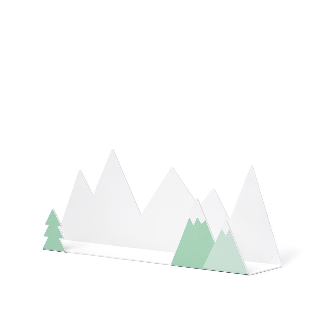 西班牙 Tresxics|綿延小山造型裝飾架(綠)