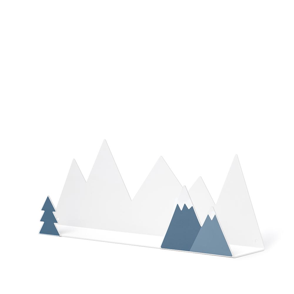 西班牙 Tresxics|綿延小山造型裝飾架(深藍)