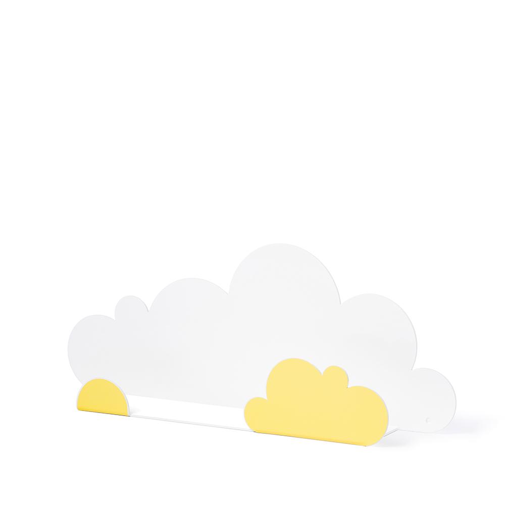 西班牙 Tresxics|綿綿雲朵造型裝飾架(鵝黄)