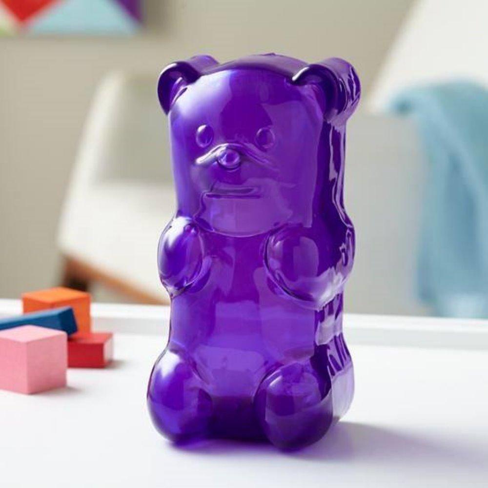 美國 Gummy Bear 軟糖熊燈 (野莓紫)