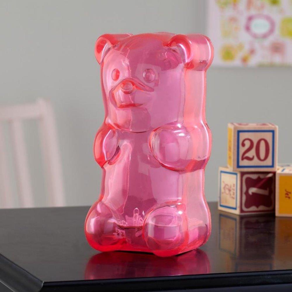 美國 Gummy Bear 軟糖熊燈 (蜜桃粉)