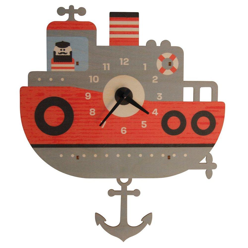 美國Modern Moose | 小船 3D立體擺鐘