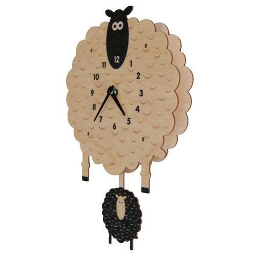 美國Modern Moose | 綿羊 3D立體擺鐘