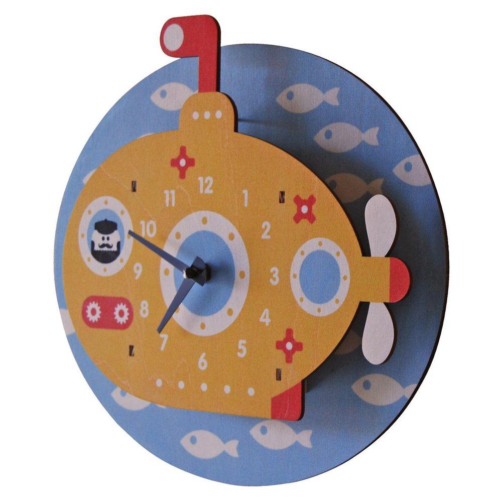 美國Modern Moose | 潛水艇 3D立體掛鐘