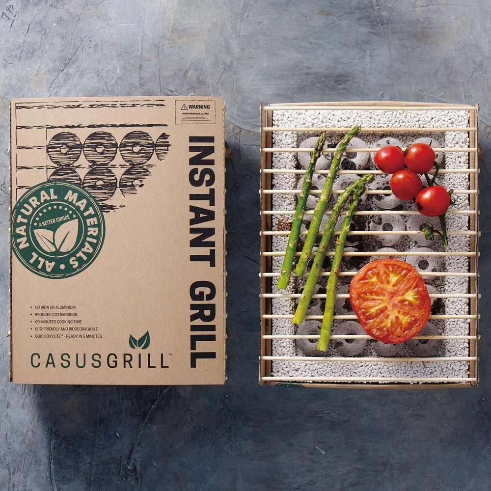 CasusGrill 丹麥工藝烤肉架 x AM0000 霓光肩背包