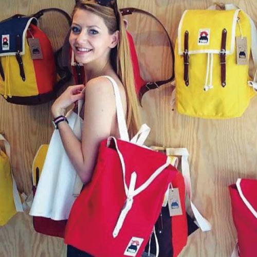 YKRA│匈牙利手工帆布包 - 素色款