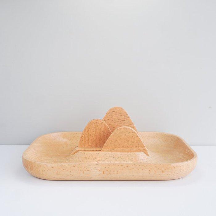 TOSMU 童心木|木製收納盤 -  山與海的距離