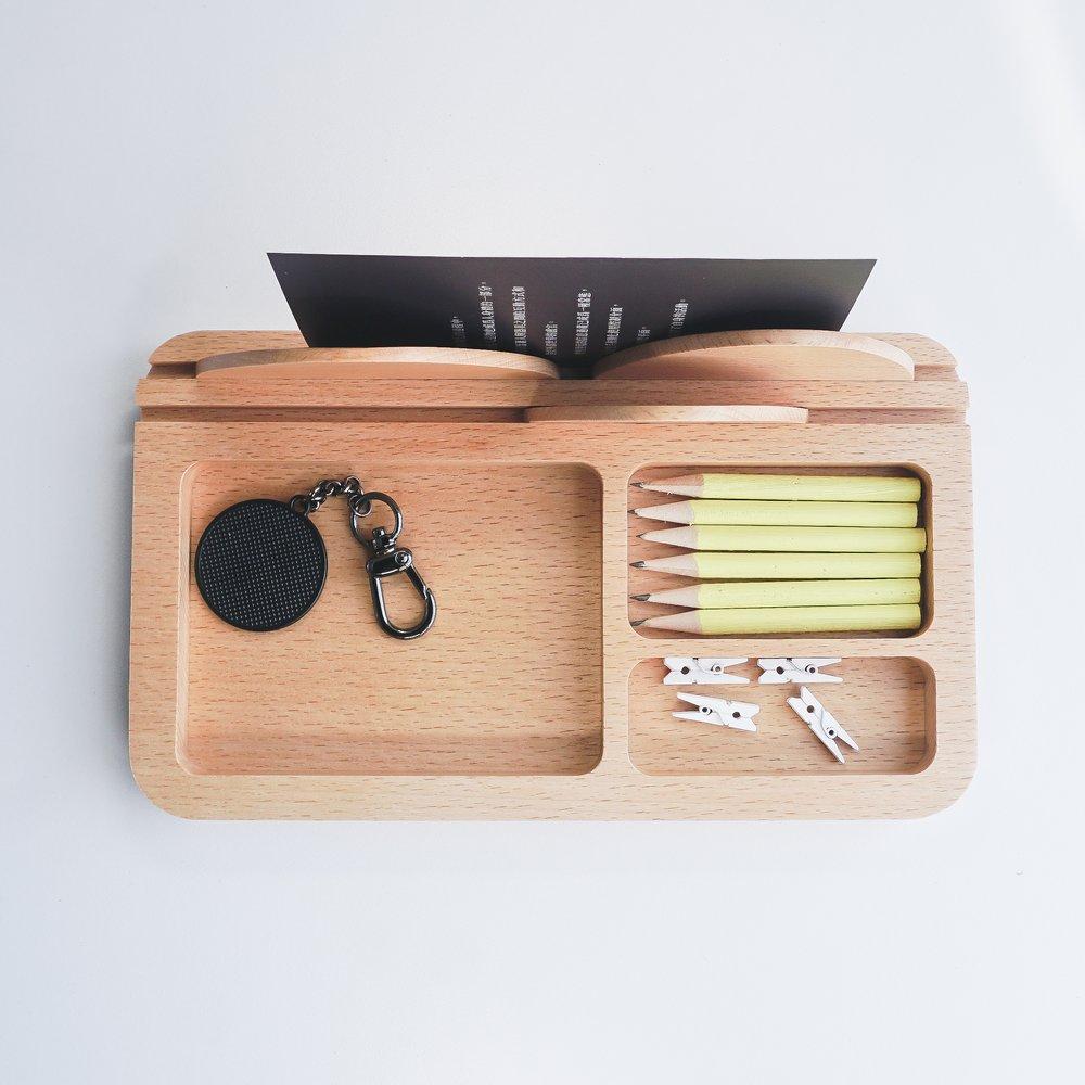 TOSMU 童心木|木製收納盤 - 山溫暖