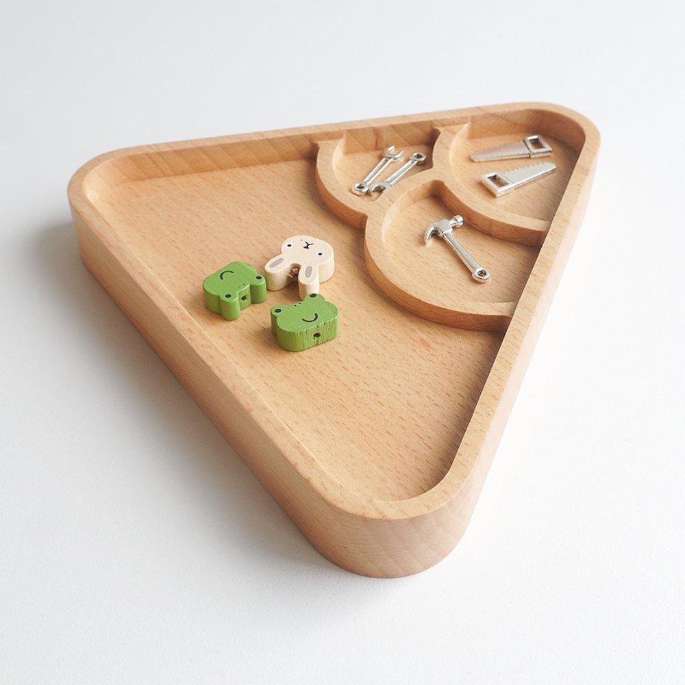 TOSMU 童心木 木製收納盤-山中雲