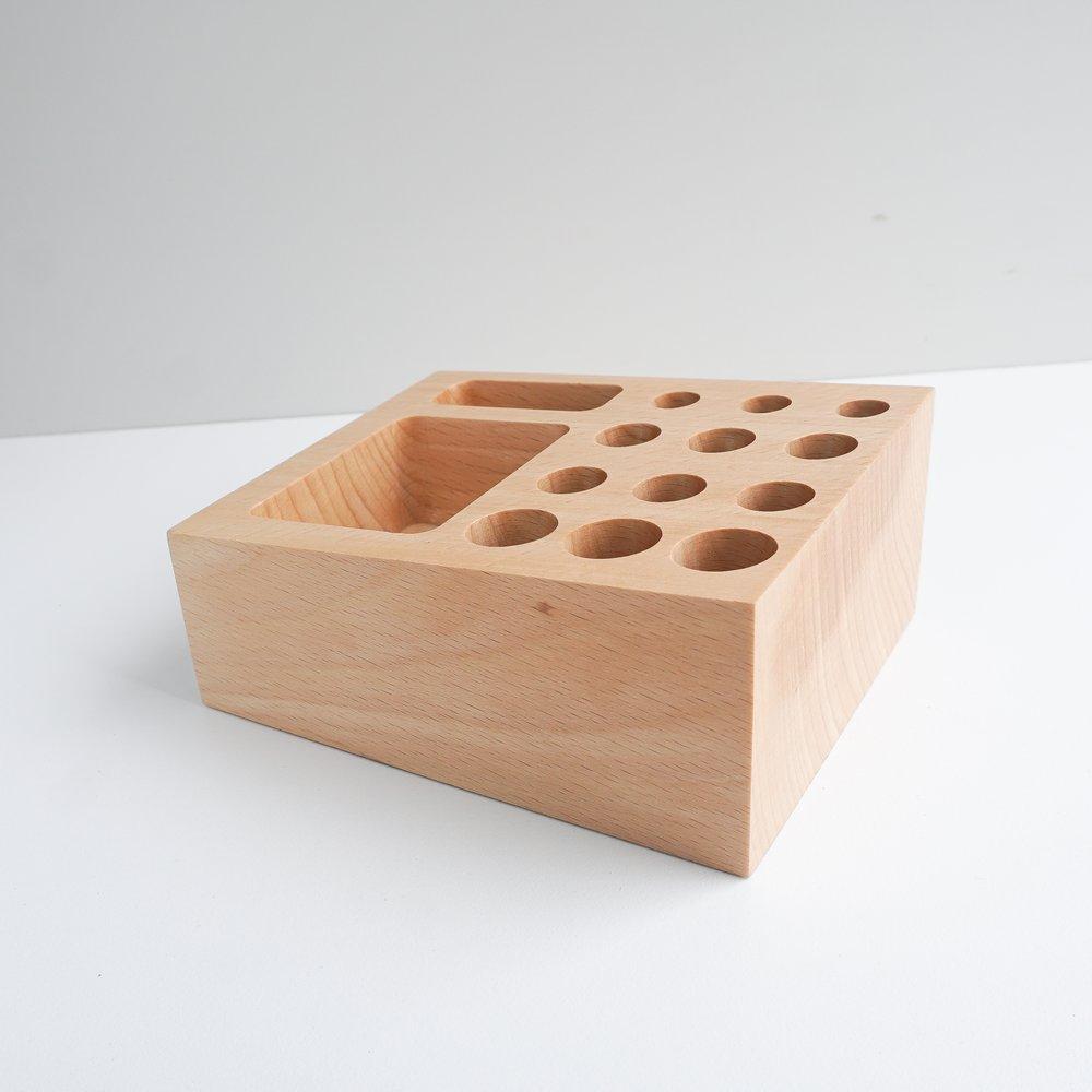 TOSMU 童心木|木製收納座 - 戳戳樂