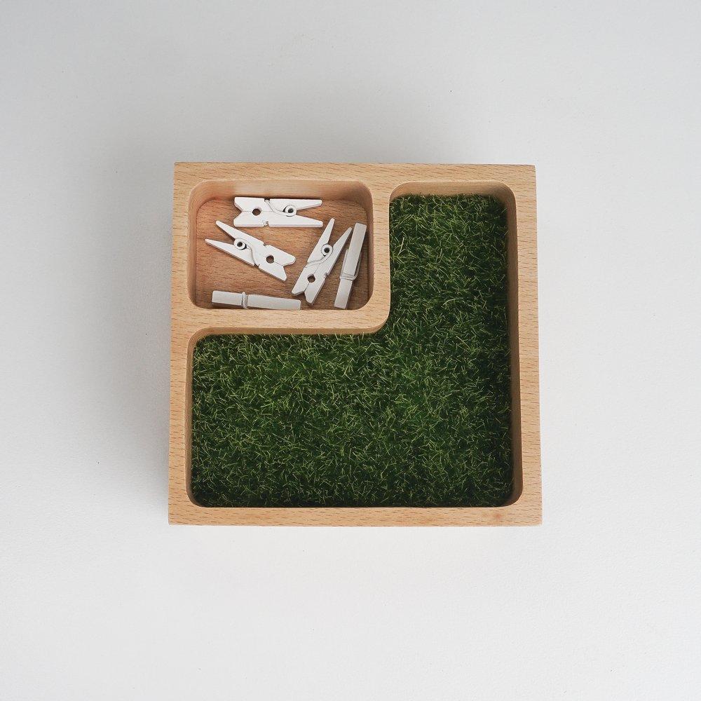 TOSMU 童心木|木製收納盤 - 森林城堡