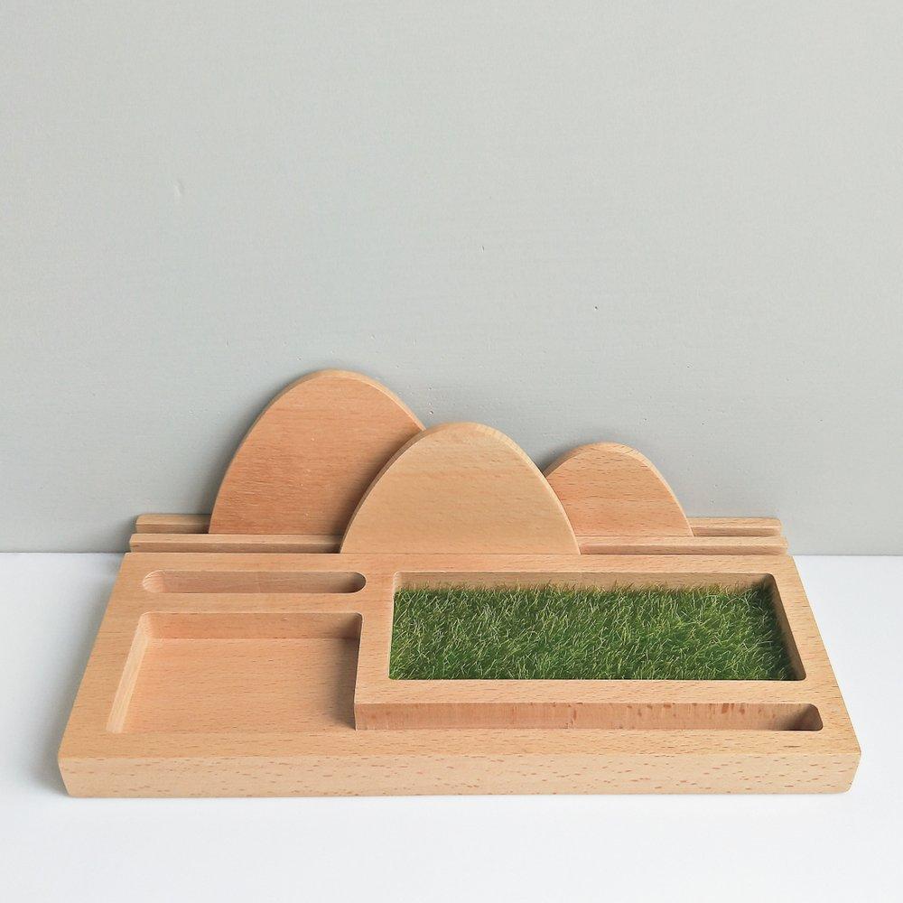 TOSMU 童心木 木製收納盤 - 覓境
