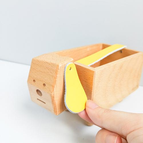 TOSMU 童心木|木製發票收納盒 - 好運旺旺狗