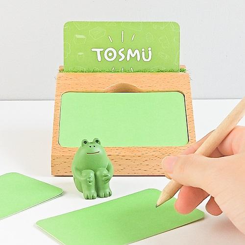 TOSMU 童心木|草槽MEMO名片座